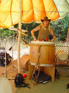 Raven Jake and Taiko Drum
