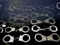 Handcuff display