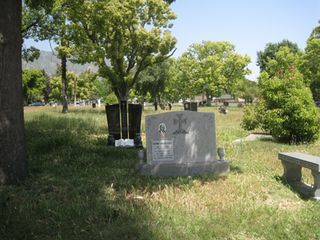 More headstones at Grand View