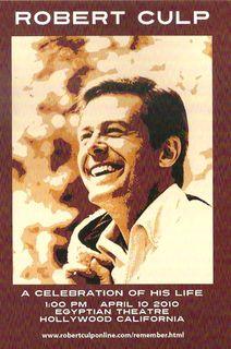 Robert Culp memorial card