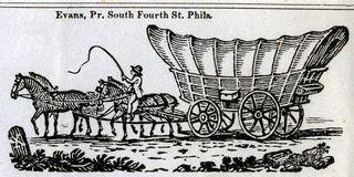 4 mule wagon