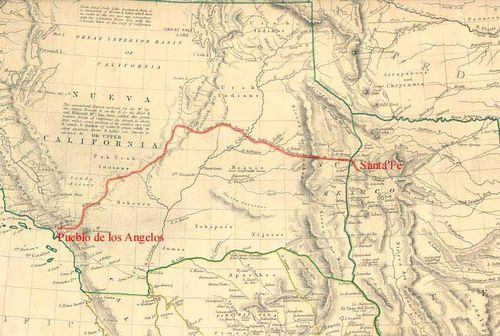 Old Spanish Trail 1846