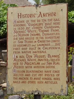 Historic Anchor Sign