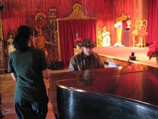 Raven Jake at the Piano