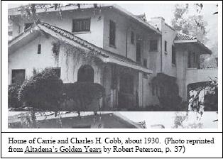 Cobb Estate 1930
