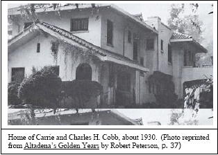 Cobb Estate 1930