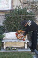 Raven Jake at Eulalia's Grave