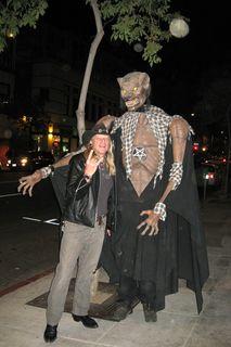 Raven Jake and a Werewolf