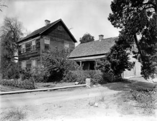 Miguel Blanco Adobe from Driveway