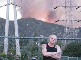 Jake at the Station Fire