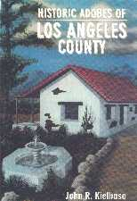 Historic Adobes of LA County book cover