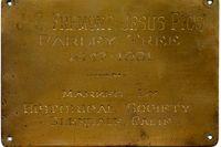 1931 plaque