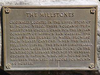 Millstone plaque