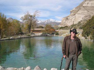 Raven Jake by trout pond