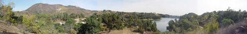 Hollywood Reservoir Panoramic