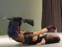Kotu Kedi with Rifle