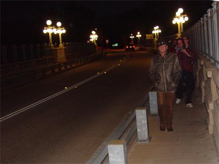 Raven Jake on the Bridge