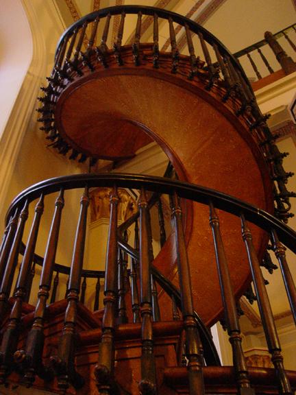 Capilla de Loreto Escalera