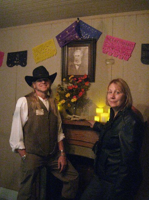 With Christine Frederickson