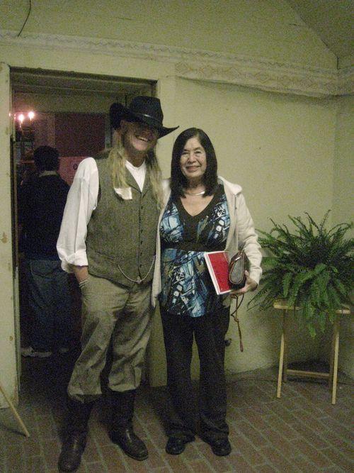With Helen Salazar