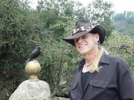 Raven Jake and a Raven